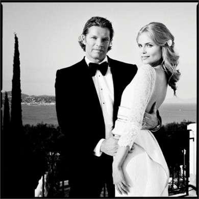 Natasha Poly si sposa con un abito Givenchy