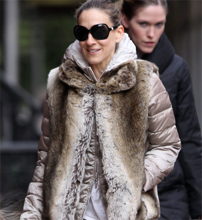 Celebrity Style: Sarah Jessica Parker veste Max Mara