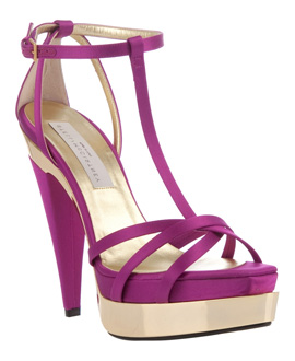 Stella McCartney: i sandali Viola Hokkaido T-Strap