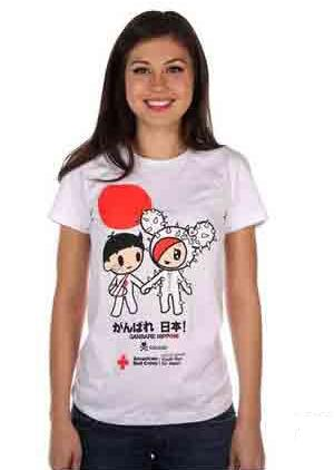 Moda e Beneficenza: le t-shirt Tokidoki Japan Relief
