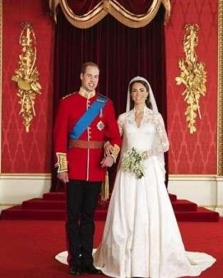 Matrimonio William e Kate: le foto ufficiali della nuova coppia reale