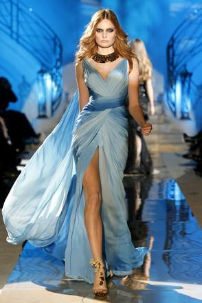zuhair murad abito azzurro