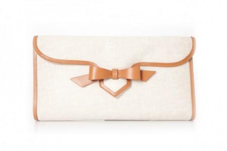 Borse Christian Louboutin: la clutch Evita in stile bon ton