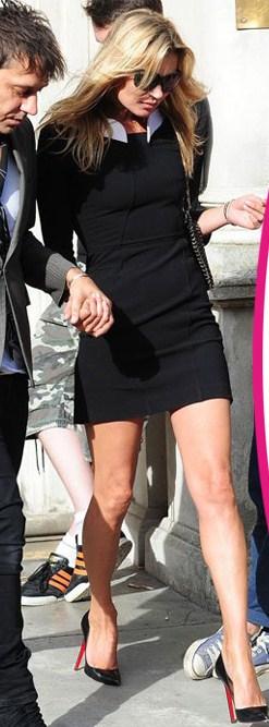 Kate Moss sceglie le Pigalle, è Louboutin mania tra le star!