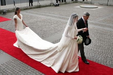 L abito di Kate Middleton mcqueen
