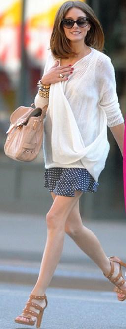 Scarpe Gucci: Olivia Palermo conquistata dai sandali Sigourney