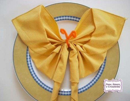 Origami semplici farfalla