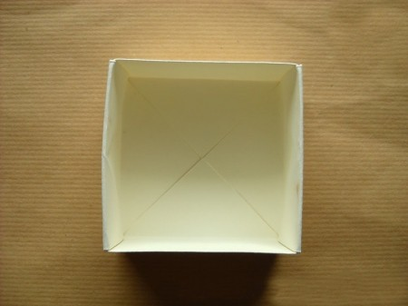 Origami semplici scatola