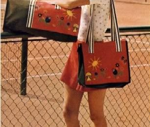 Idea ricamo: realizziamo la borsa sportiva