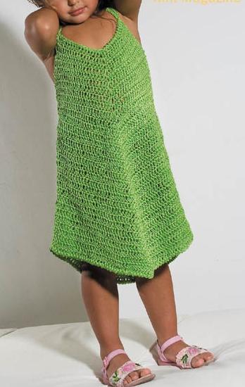 Lavori all'uncinetto: creiamo un bellissimo abitino per femminucce