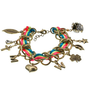 Matthew Williamson disegna un bracciale per Accessorize