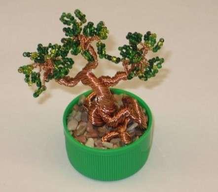 Lavoretti con le perline: come si fa un bonsai