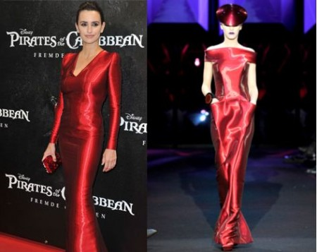 Penelope Cruz sceglie un abito Armani Privé