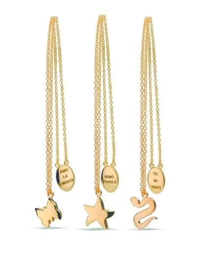 Quali sono le collane in oro giallo o bianco più alla moda? [FOTO]