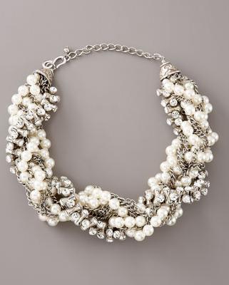 collane perle catena