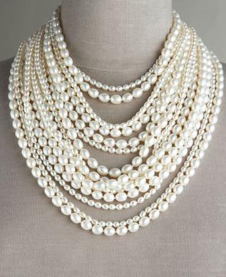 collane perle fili