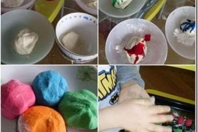 Pasta di sale: come si colorano gli oggetti