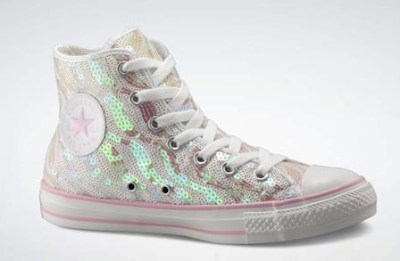 Converse All Stars: il modello Prom con paillettes