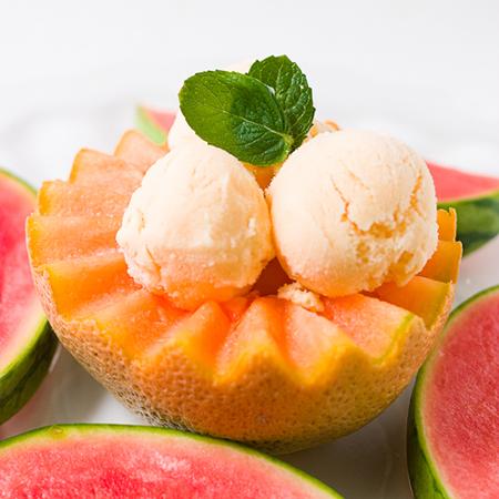 gelato al melone light