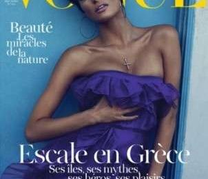 Isabeli Fontana su Vogue Paris in stile Almodovar