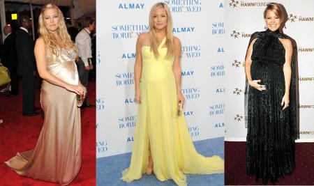 Kate Hudson: look premaman elegante e super chic