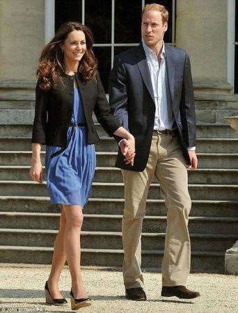 Kate Middleton alla sua prima uscita ufficiale in Zara