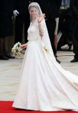 Vestiti Da Sposa Kate Middleton.Abito Da Sposa Di Kate Middleton Le Foto E I Particolari Pourfemme
