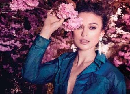 Keira Knightley, un fiore di primavera nelle foto per Flaunt