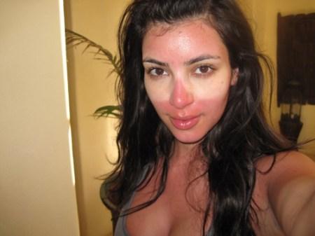 kim kardashian scottatura solare