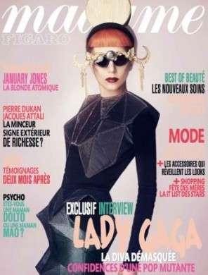 Lady Gaga su Madame Figaro fotografata da Mariano Vivanco