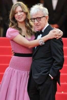 Lea Seydoux in Louis Vuitton Abito