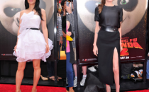 Angelina Jolie e Lucy Liu alla premiere di Kung Fu Panda 2