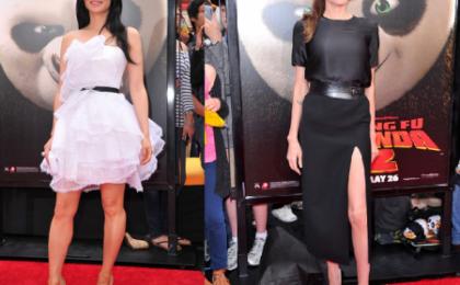 "Angelina Jolie e Lucy Liu alla premiere di ""Kung Fu Panda 2"""