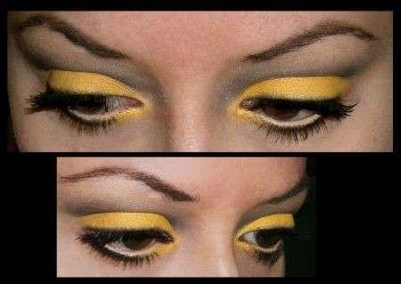 Make up 2011 ombretto giallo