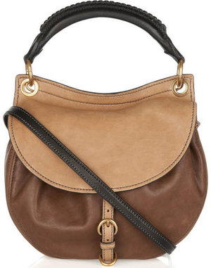 miu miu leather hobo classic