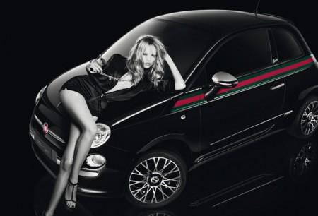 Fiat 500 by Gucci: la campagna con Natasha Poly