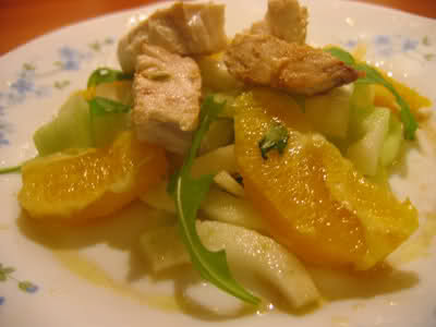 pesce persico arancia