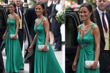 Matrimonio William e Kate: Pippa Middleton in McQueen per il party serale