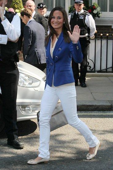 Pippa Middleton: look Zara anche per la sorella di Kate