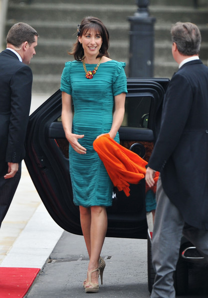 Matrimonio William e Kate: Samantha Cameron sceglie Burberry