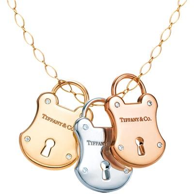 tiffany e co collana lucchetti