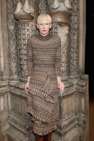 Pringle of Scotland: la nuova musa è Tilda Swinton