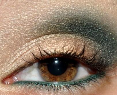 Make up primavera 2011: mix in oro e verde