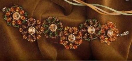 Gioielli fai da te, crete un bracciale multicolore a fiori