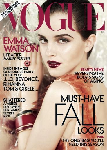 Emma Watson Vogue USA