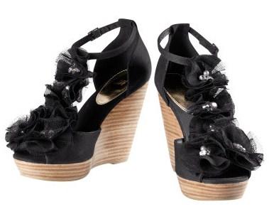 HM sandali neri