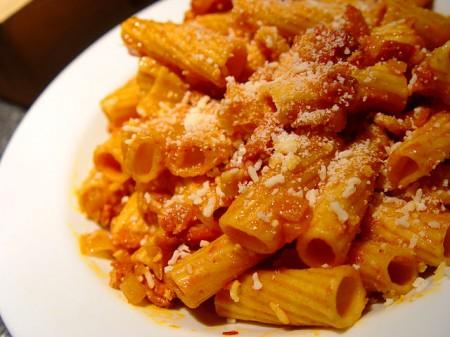 Mangiare Roma amatriciana