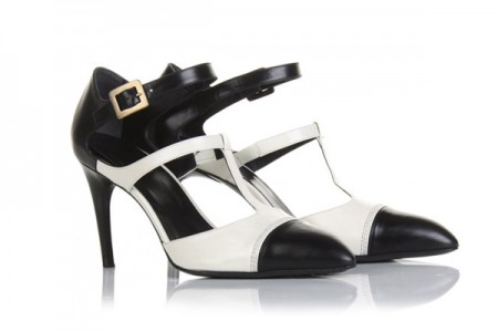 Roger Vivier le sue Mary Jane le vuole in bicolor ma bon ton!