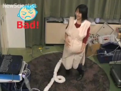 Una tuta per simulare la gravidanza
