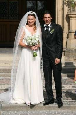 Alena Seredova Gigi Buffon sposi